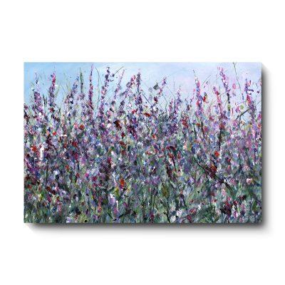 139WildflowersinPurpleCanvas
