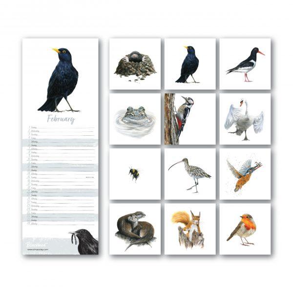 2022 British Wildlife Calendar Images
